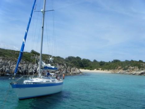 saiing boat anchor