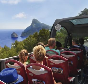 Formentor & Alcudia cabrio bus