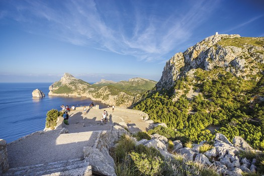 Formentor panoramic view