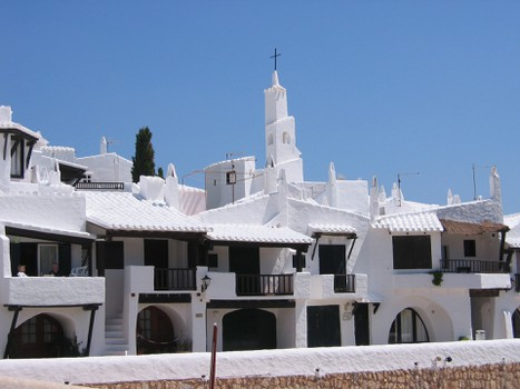 Menorca tour - Binibeca