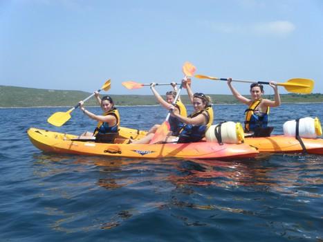 enjoy fornells kayak