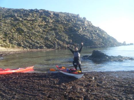 montgofre in kayak