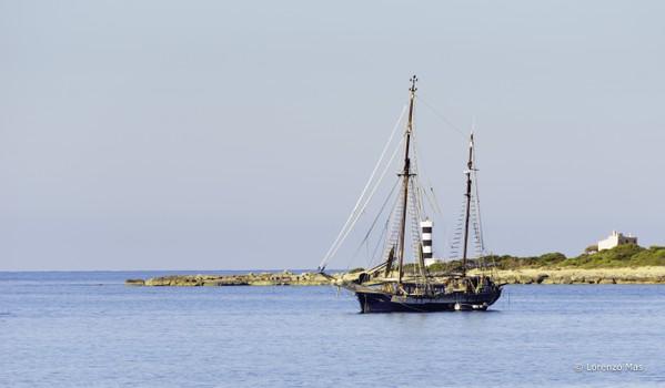 Classic sailboat Mallorca
