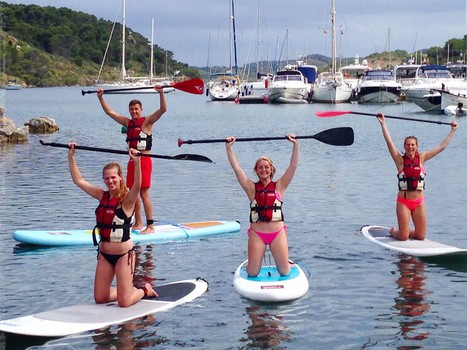 paddle surf in addaia