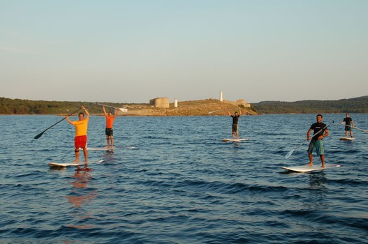 paddle surf in Fornells