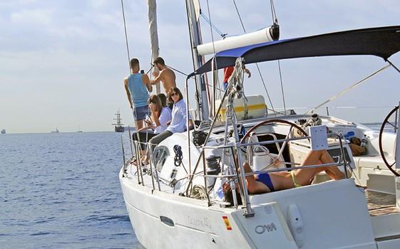 Sailtrip in Port Olimpic
