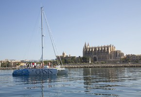Half day exclusive catamaran trip in Palma