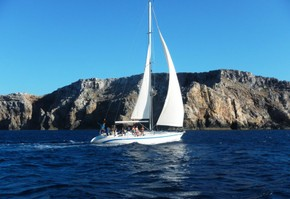 Exclusive tour of 8 hours sailing (Menorca)