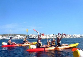 Guided tour of 6 hours in Kayak (Minorca) Minimum 2 people