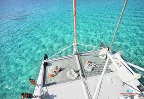 Catamaran half day trip in Palma of Majorca in exclusive
