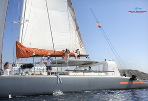 Catamaran day trip in Palma of Majorca in exclusive