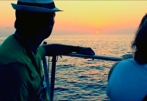 Sunset motorboat excursion on exclusive Dragonera Island