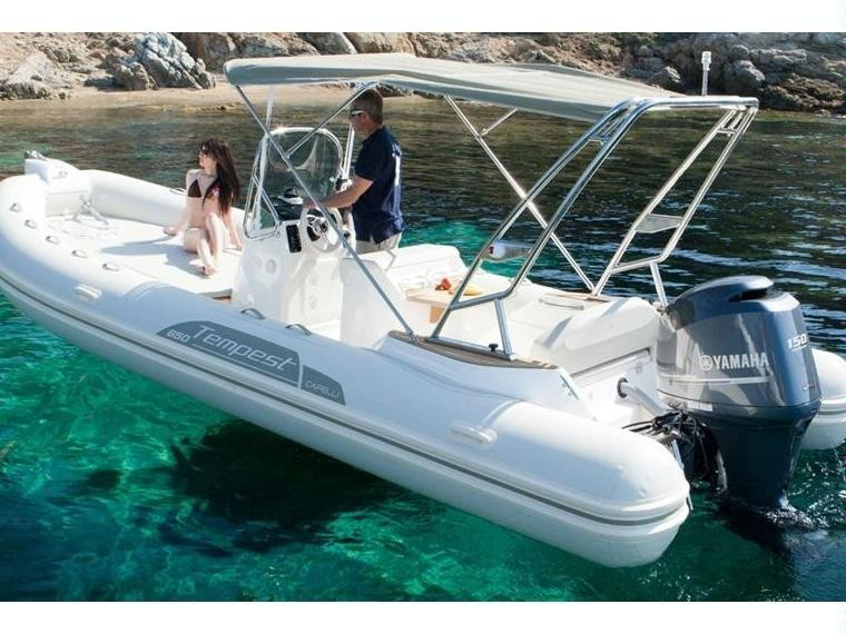 Capelli Tempest 650 2018 Nautic Fun Menorca