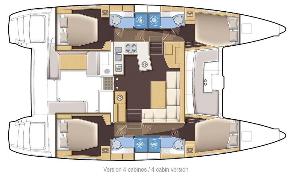 LAGOON 450S 2016 Cruesa