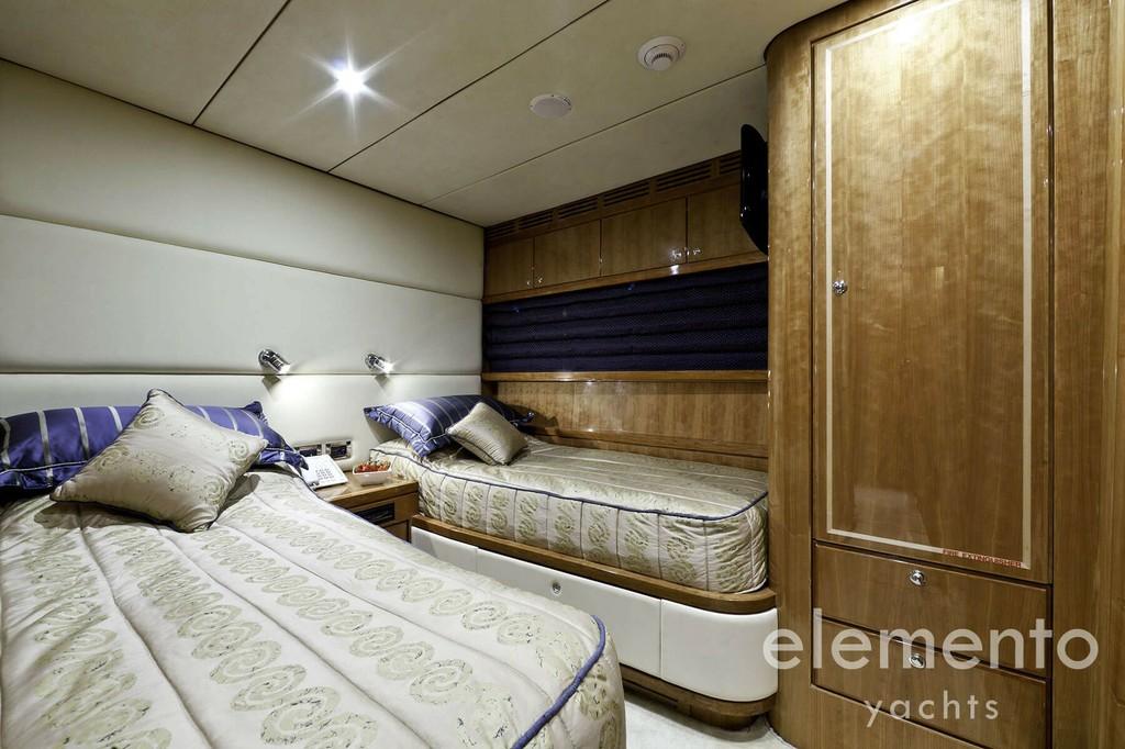 Yachtcharter auf Mallorca: Monte Fino 78 Doppelkabine.