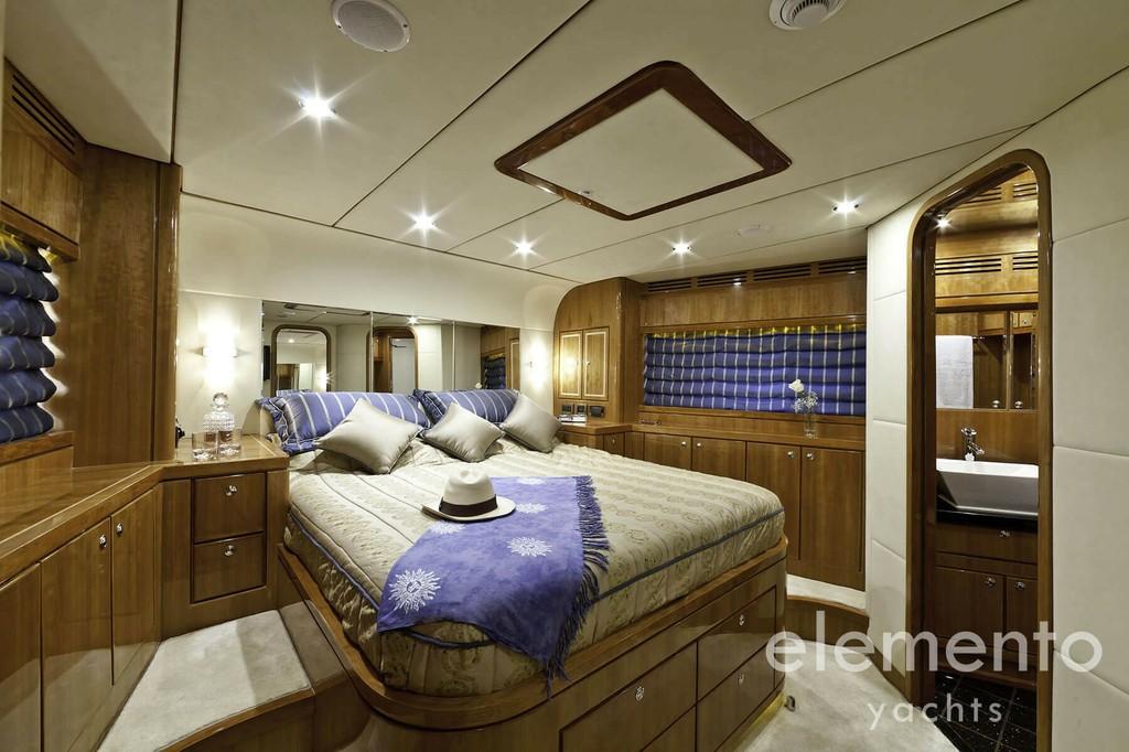 Yachtcharter auf Mallorca: Monte Fino 78 schöne VIP Kabine.