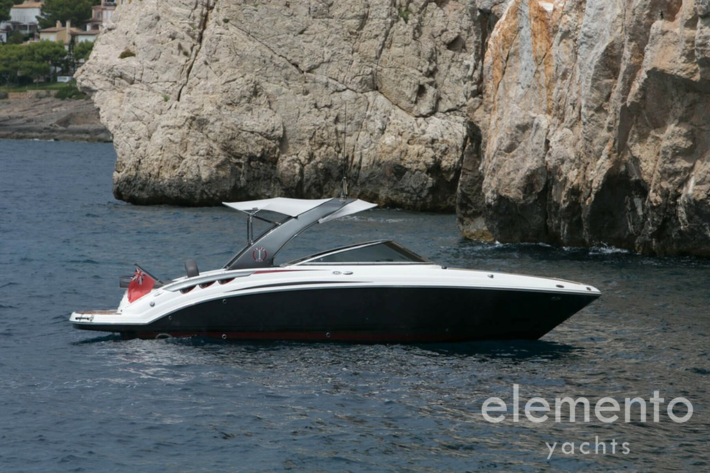 Yacht Charter in Majorca: Palmer Johnson 120 optional tender.