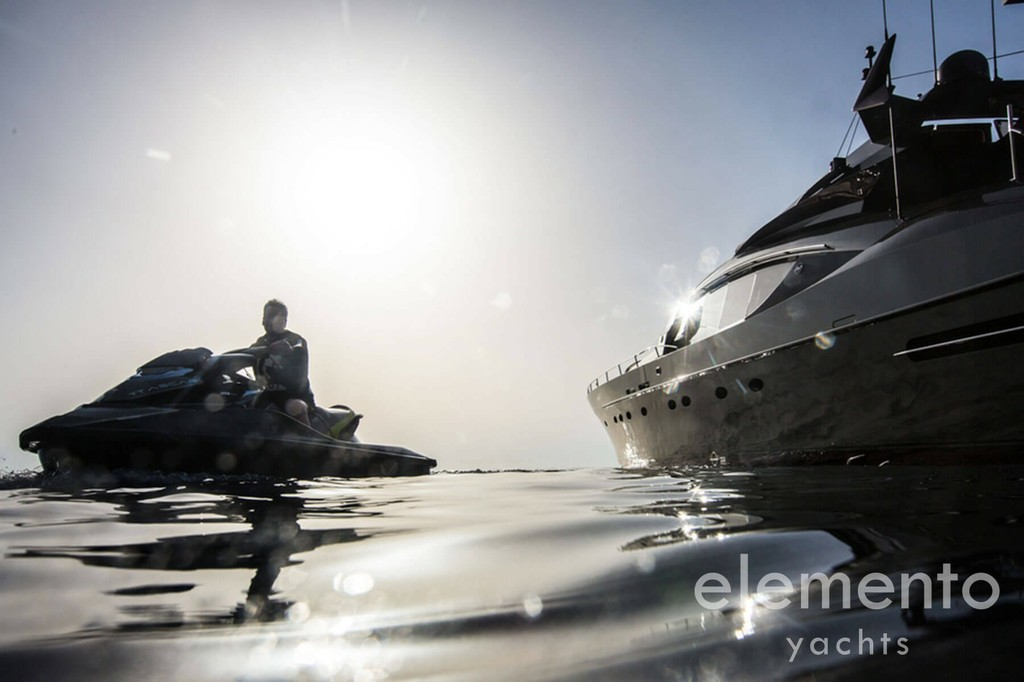 Yacht Charter in Majorca: Palmer Johnson 120 jetski included.