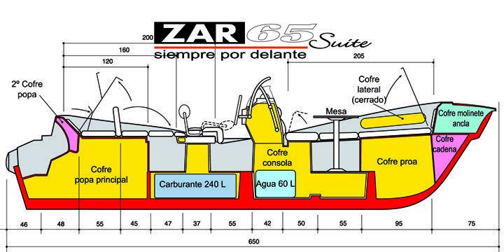 ZAR 65 Suite plano