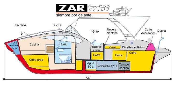 ZAR 73 Sky Deck Nautinort