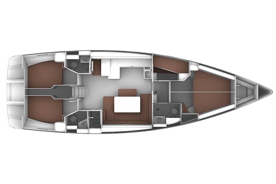 Bavaria 51 Cruiser mk2